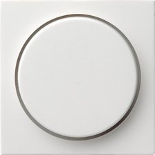 Gira Abdeckung mit Knopf für Dimmer und elektronisches Potentiometer (065003)