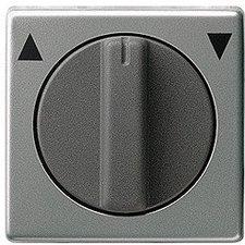 Gira Abdeckung mit Knebel für Jalousieschalter-/taster und Zeitschalter (066620)