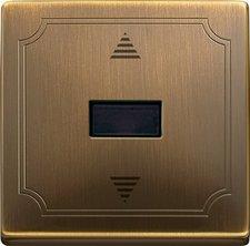 Merten Jalousie-Taster mit IR-Empfänger und Sensoranschluss (584443)