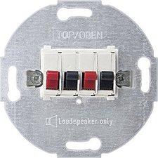 Merten Lautsprecher-Anschluss-Einsatz 2-fach (4670)