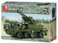 Sluban Land Forces 2 - Schwertransporter Geschütz