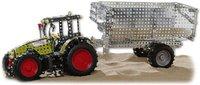 Rcee Metallbaukasten Traktor Claas 850 mit Anhänger