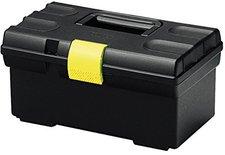 Curver Werkzeugkasten Basic 16'' schwarz gelb