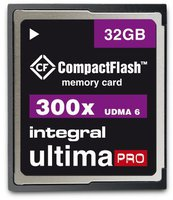Integral Compact Flash Card UltimaPro 32 GB 300x