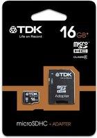 TDK microSDHC Card 16GB Class 4