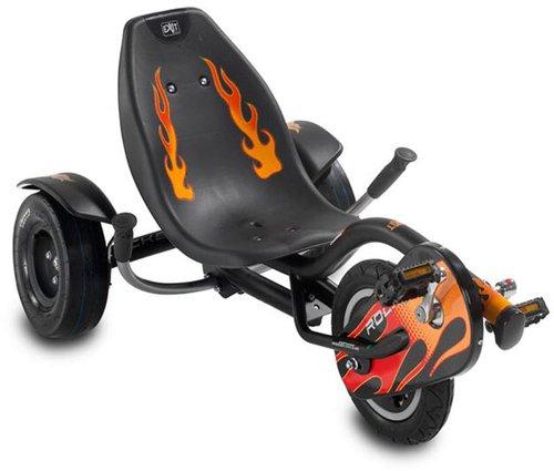 Triker Rocker Kart Black Flame