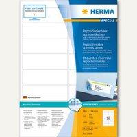 Herma Adressetiketten, A4, 99,1 x 33,8 mm (10309)
