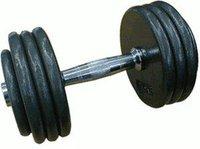 Sport-Tiedje Guss-Kompakthantel 27,5 kg