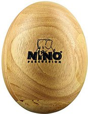Nino Wood Egg Shaker Large