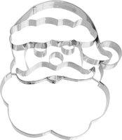 BIRKMANN Ausstechformen Weihnachtsmann-Gesicht
