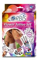 Revell Orbis Airbrush für Kinder Flower Tattoo Set