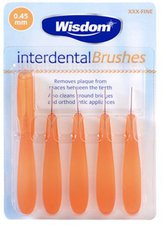 Wisdom Interdental Brushes (0,45 mm)