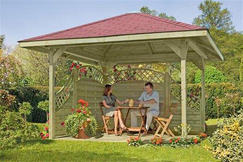 Holzpavillon div. Hersteller