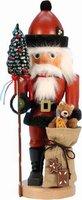 Christian Ulbricht Nussknacker Weihnachtsmann mit Teddy (44,5 cm)