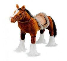 Heunec Pferd stehend mit Sound braun 80 cm