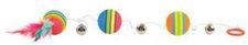 Trixie Rainbow-Bälle am Gummiband (ø 35 cm)