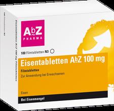 AbZ Eisentabletten 100 mg Filmtabletten (100 Stk.)