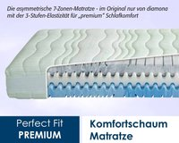 diamona Perfect Fit Premium 90x190 cm