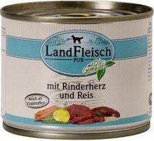 Dr. Alder's LandFleisch pur mit Rinderherzen und Reis 195 g