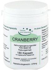 G&M Naturwaren Cranberry Kapseln (180 Stk.)