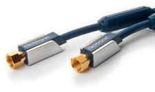 Clicktronic 70596 F-Koaxial SAT Antennenkabel 120dB (15,0m)