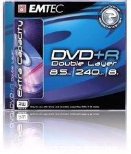 Emtec DVD+R 8.5Gb DL 240min 8x 10er Cakebox