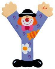 Sevi Clown Buchstaben