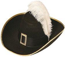 Orlob Musketier Hut mit Schnalle