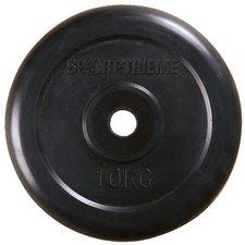 Sport Thieme Gummierte Hantelscheibe 10 Kg