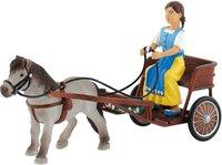 Bullyland Falabella mit Kutsche und Kutscherin Sophie (62700)