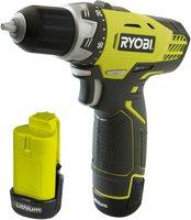 Ryobi RCD12012L mit 2x 1,3Ah + Werkzeugtasche