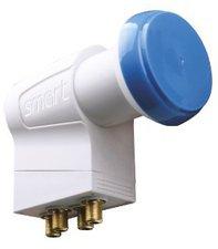 Smart Electronic Blue Cap Quad LNB
