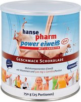 Hansepharm Power Eiweiss Plus Schokolade Pulver (750 g)