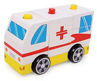Legler Krankenwagen Rotes Kreuz
