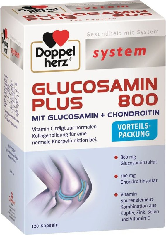 doppelherz system glucosamin plus 800 kapseln pzn 9337942. Black Bedroom Furniture Sets. Home Design Ideas