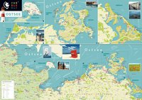PuzzleMap Ostsee (XXL-Puzzle, 500 Teile)