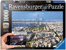 Ravensburger Augmented Reality Puzzle - Über den Dächern von Paris (1.000 Teile)