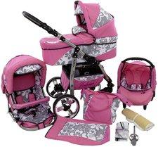 Lux 4 Kids Baby Merc Q7 System-Kinderwagen 3-in-1