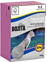 Bozita Feline Funktion Hair & Skin Sensitive 190 g
