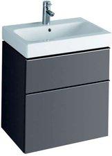 Keramag iCon Waschtischunterschrank platin (59, 5 x 62 x 47,7 cm) 840362000