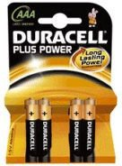 Duracell 12x Alkaline PLUS POWER Micro AAA