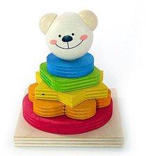 Hess Spielzeug Stapelturm Bärchen Tim