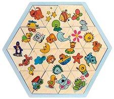 Hess Spielzeug Puzzle 8 Bilder