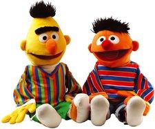 Sport Thieme Ernie und Bert Handpuppen-Set