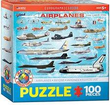 Eurographics Flugzeuge (100 Teile)