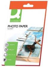 Q-Connect Inkjet Photopapier, 10x15cm, 180g (KF01905)