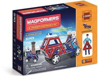 Magformers Magnetbaukasten XL Cruiser Emergency Set