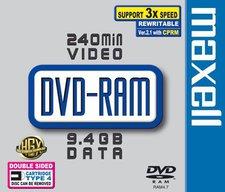 Maxell DVD-RAM 9,4GB 240min 3x doppelseitig 1er Jewelcase