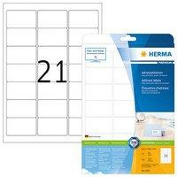Herma Universal-Etiketten, 63,5 x 38,1 mm, weiß (5029)