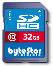 ByteStor SDHC Card 32 GB Class 10